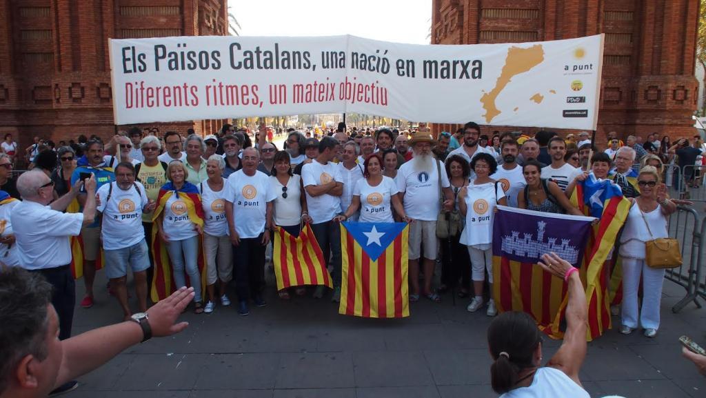 Els Països Catalans, una nació en marxa. Diferents ritmes, un mateix objectiu.