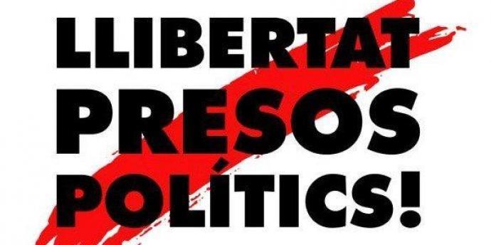 Resultat d'imatges de llibertat presos politics
